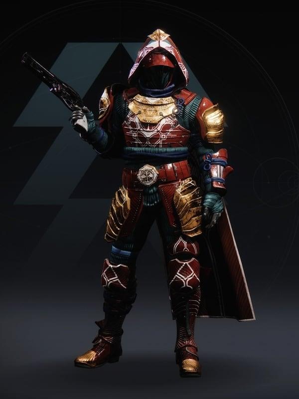 Destiny 2 Iron Remembrance Hunter Male