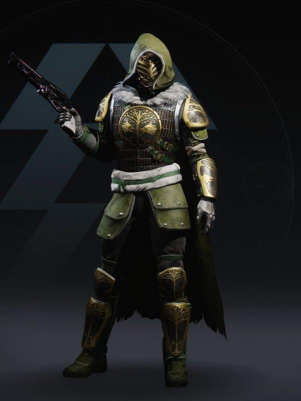Destiny 2 Iron Truage Hunter Male