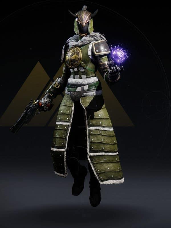 Destiny 2 Iron Truage Warlock Female