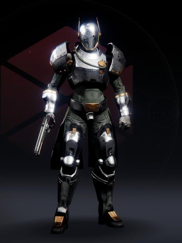 Destiny 2 Lustrous Chromite Titan Female