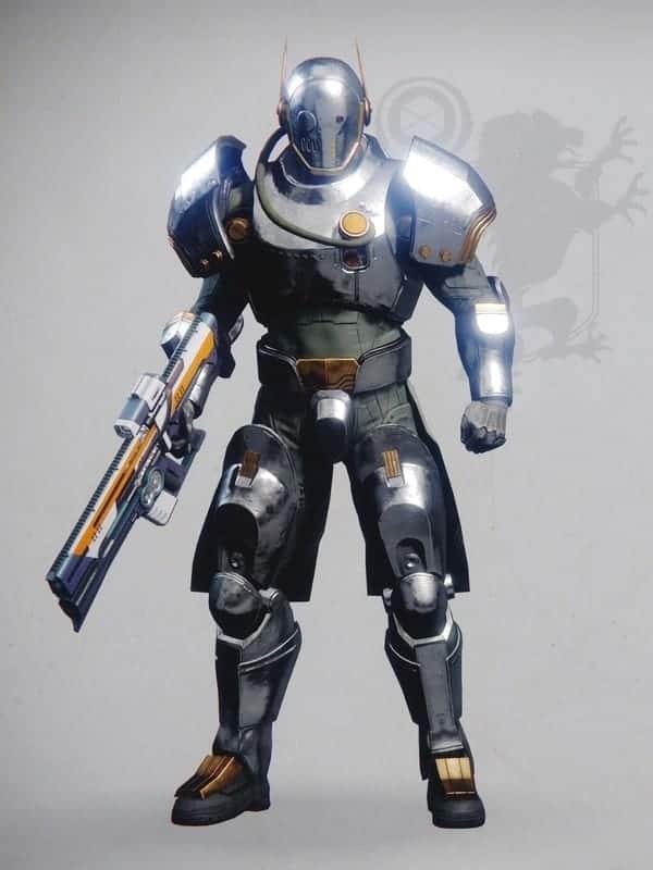 Destiny 2 Lustrous Chromite set Titan male