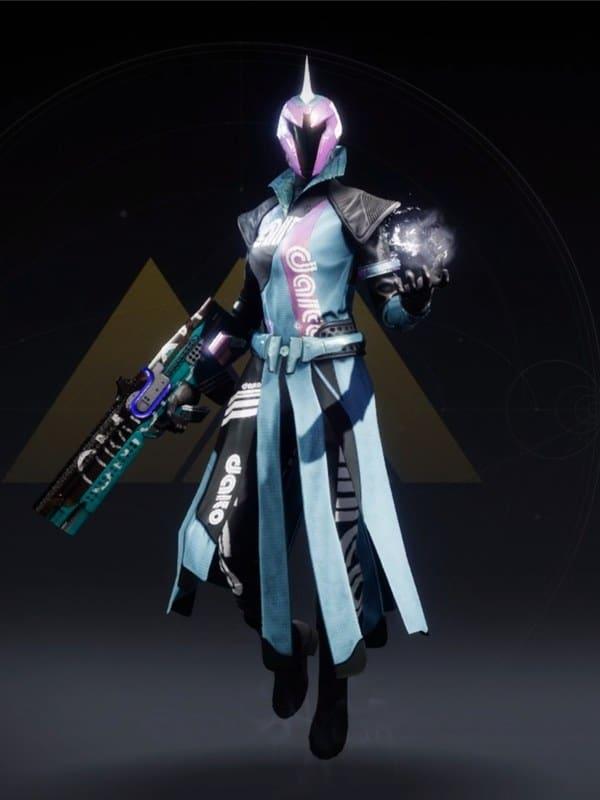 Destiny 2 Moonfang-X7 Warlock female