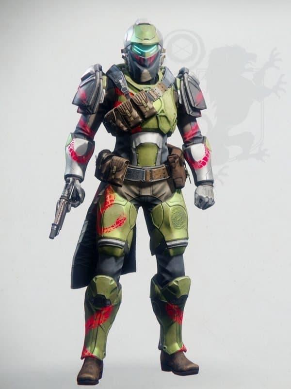 Destiny 2 Notorious Titan Female