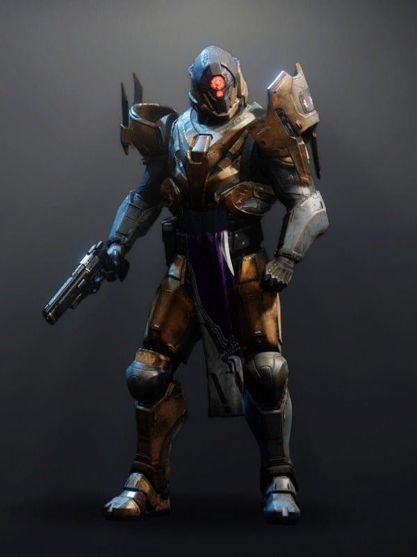 Destiny 2 Omega Mechanos Titan male