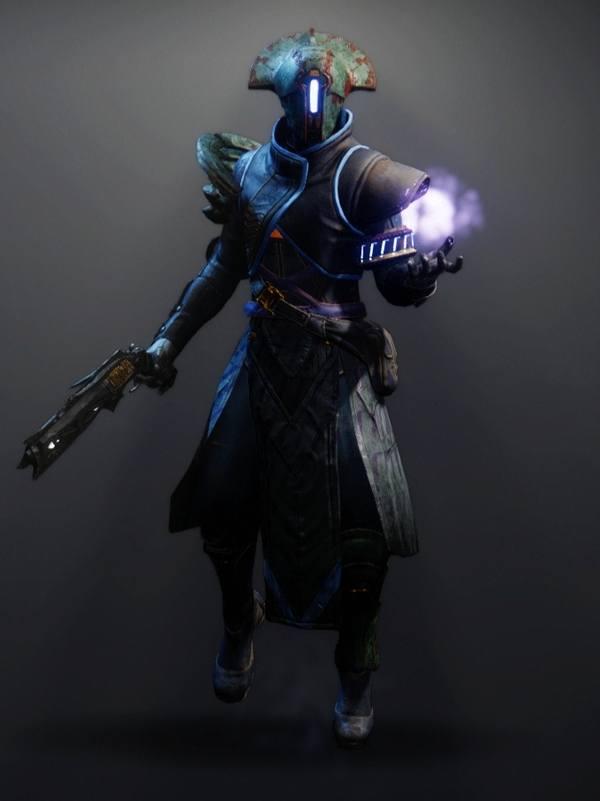 Destiny 2 Omega Mechanos Warlock male
