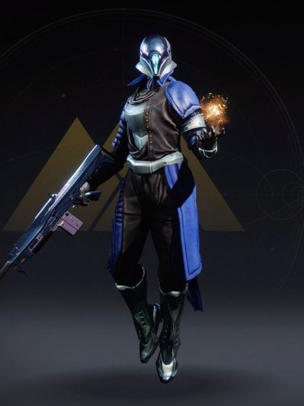 Destiny 2 Righteous Warlock female