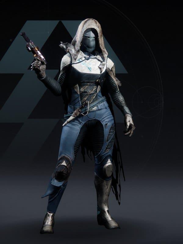 Destiny 2 Scorched Hunter female