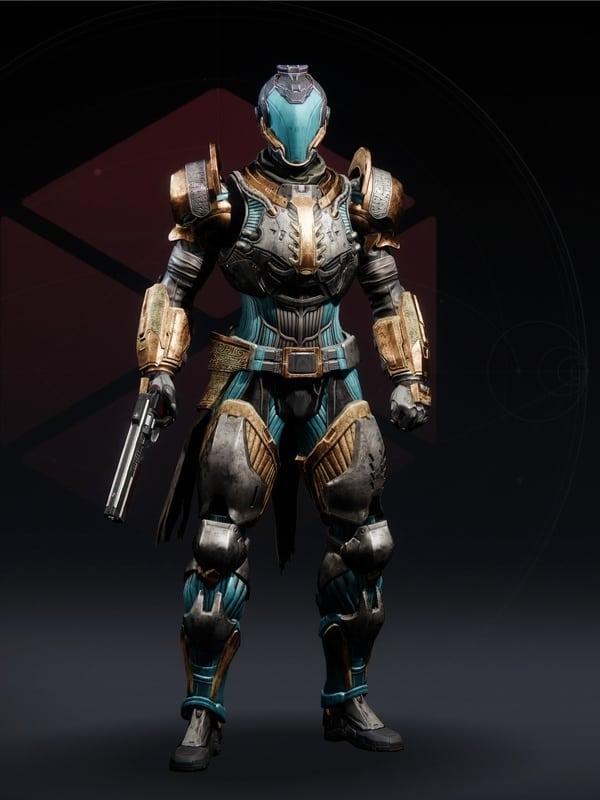 Destiny 2 Star-Crossed Set Titan Female