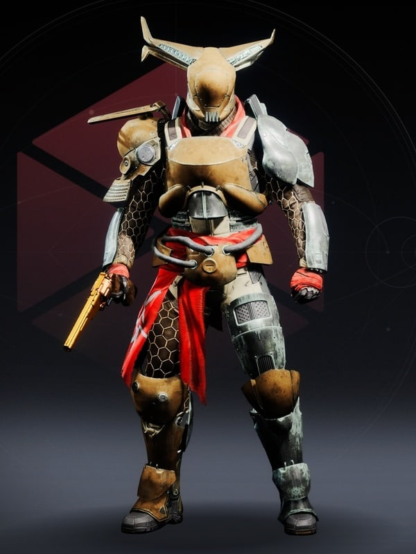 Destiny 2 Tangled Web Titan male
