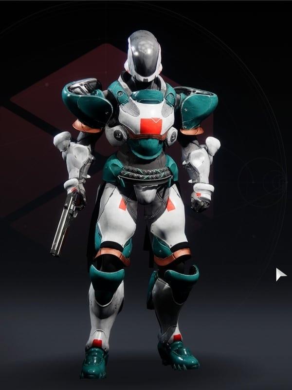 Destiny 2 Terra Concord Titan Female