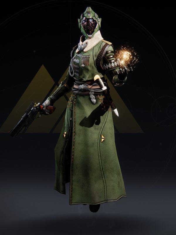 Destiny 2 Valkyrian Warlock Female 1