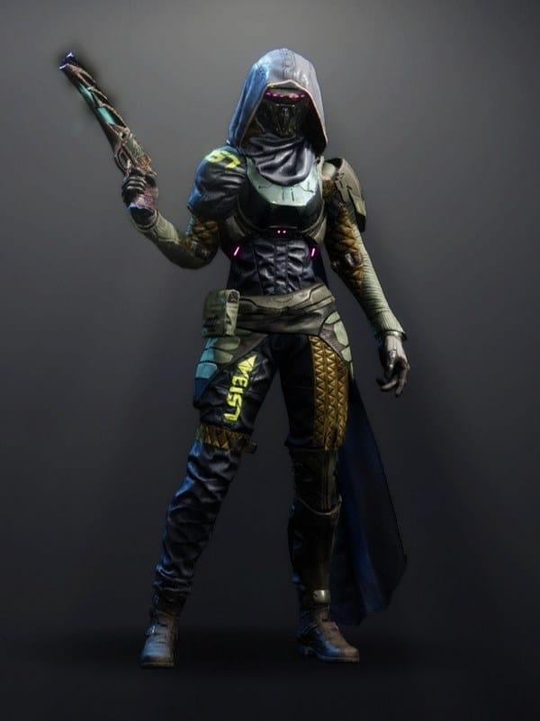 Destiny 2 Virulent Hunter female