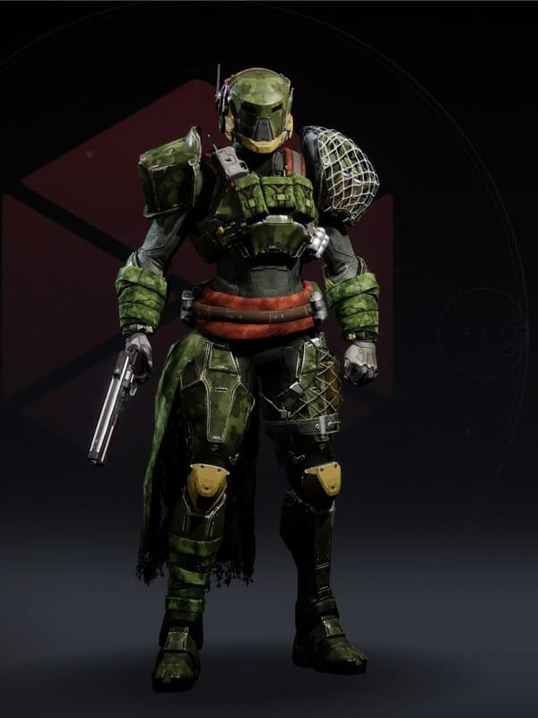 Destiny 2 Wildwood Titan Female