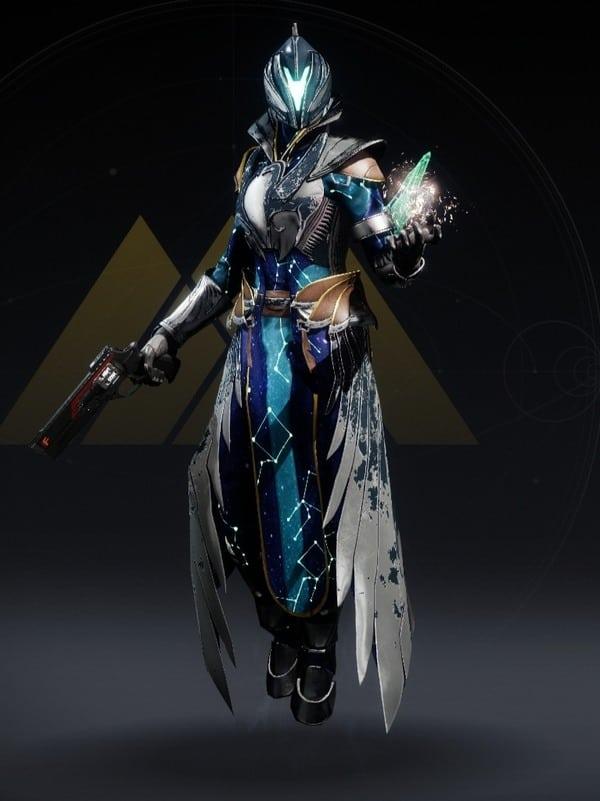 Destiny 2 Celestial Warlock female