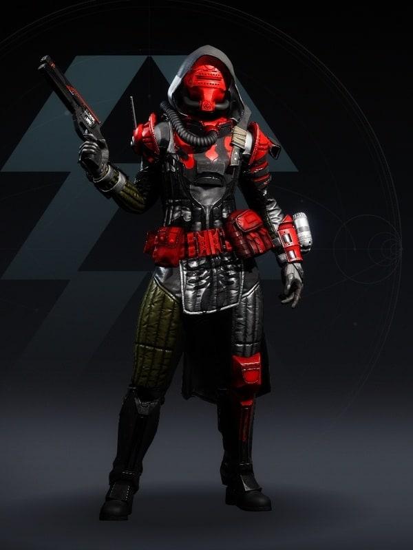 Destiny 2 Cinder Pinion Hunter female