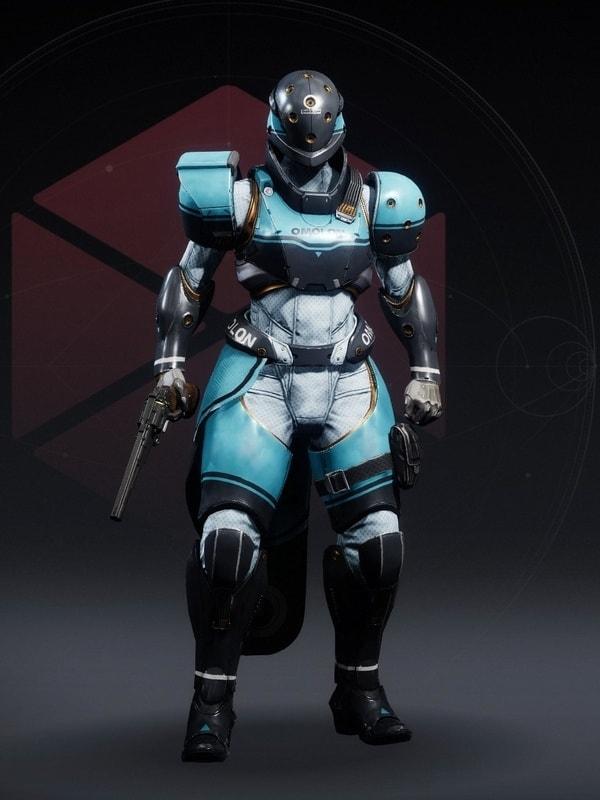 Destiny 2 Future Facing Titan female
