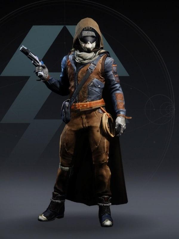 Destiny 2 Intrepid Hunter male
