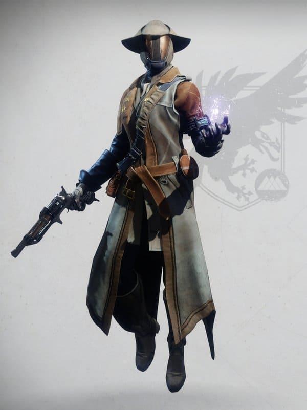 Destiny 2 Intrepid Warlock female