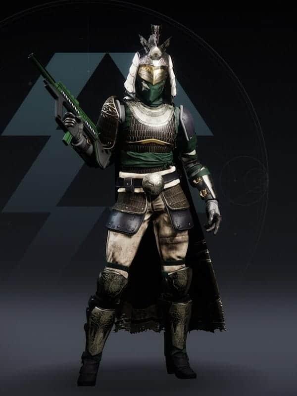 Destiny 2 Iron Pledge Ornament Hunter female
