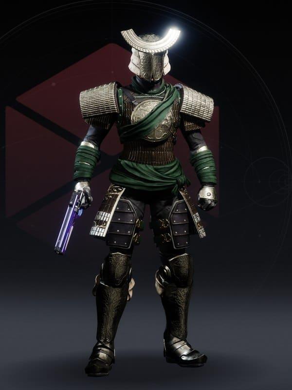 Destiny 2 Iron Pledge Ornament Titan female