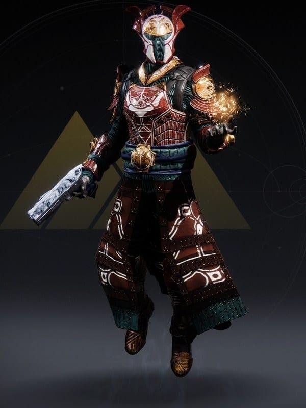 Destiny 2 Iron Remembrance Warlock male