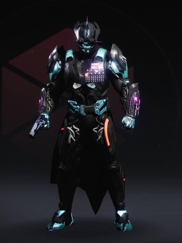Destiny 2 Legacy's Oath set Titan male