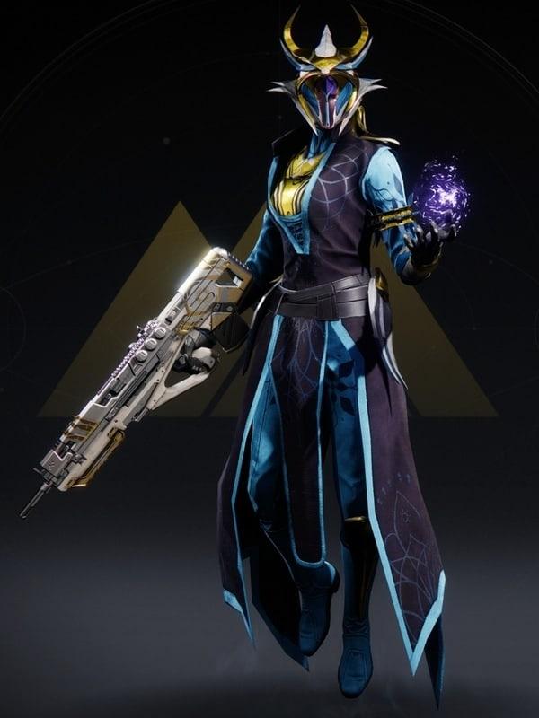 Destiny 2 Lucent Night Warlock female