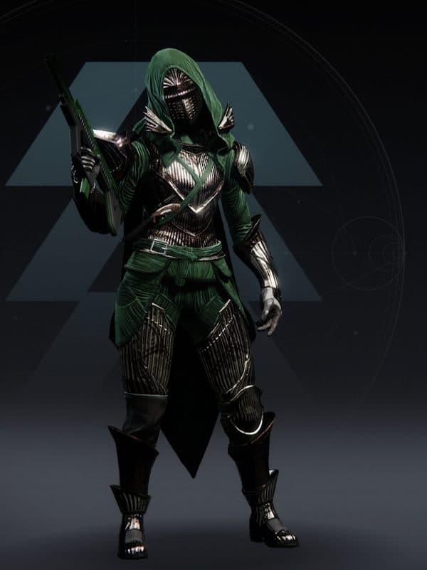 Destiny 2 Named Iron Lords Ornament Hunter female