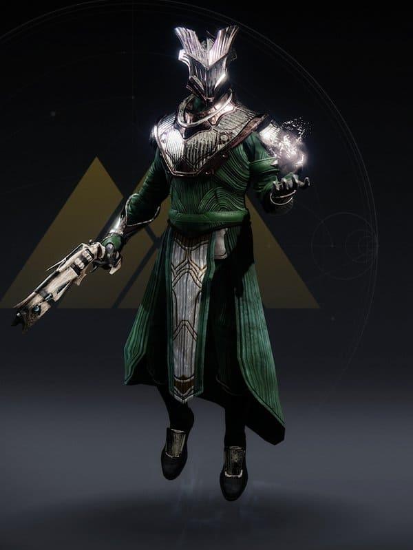 Destiny 2 Named Iron Lords Ornament Warlock male