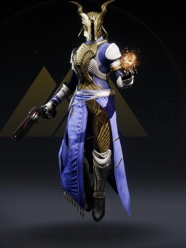 Destiny 2 Northlight Warlock female