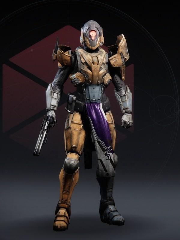 Destiny 2 Omega Mechanos Titan female