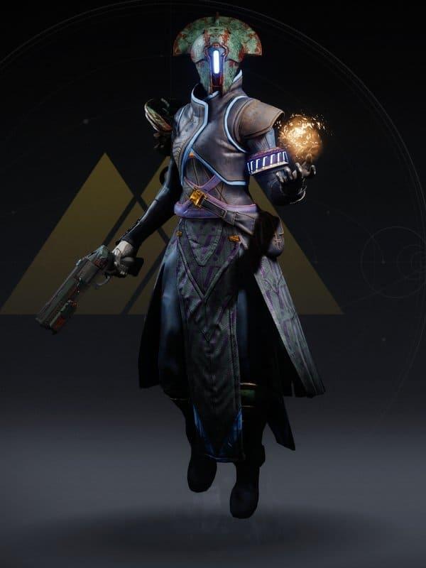 Destiny 2 Omega Mechanos Warlock female V2