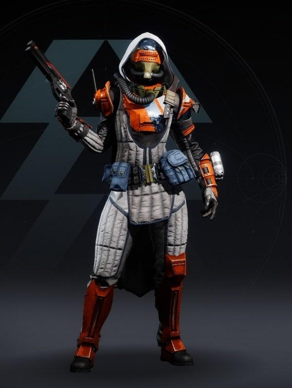 Destiny 2 Phobos Warden Hunter female
