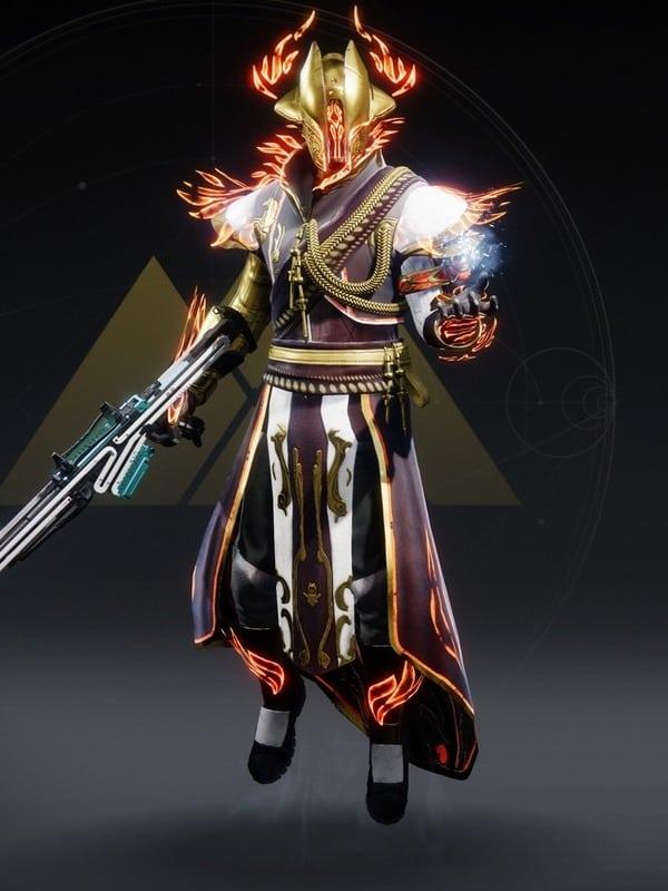 Destiny 2 Solstice Majestic Warlock male