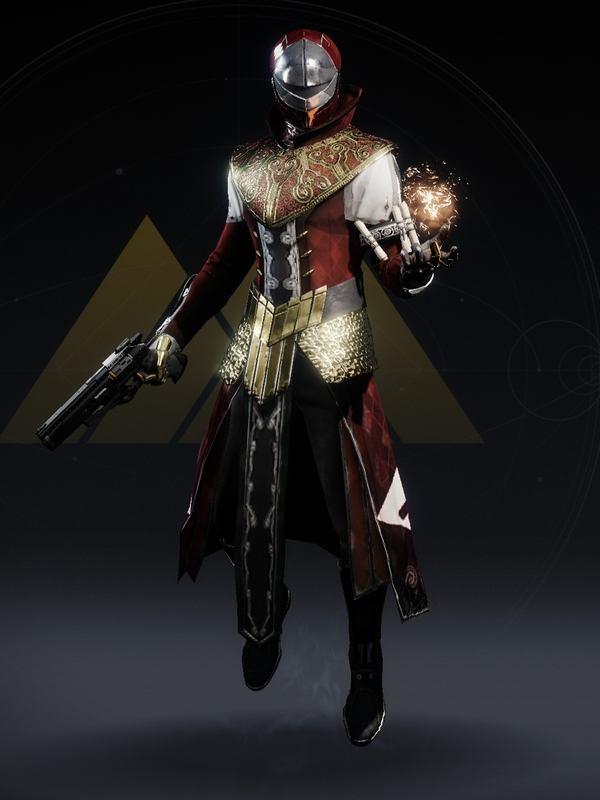 Destiny 2 Sovereign Warlock male V3