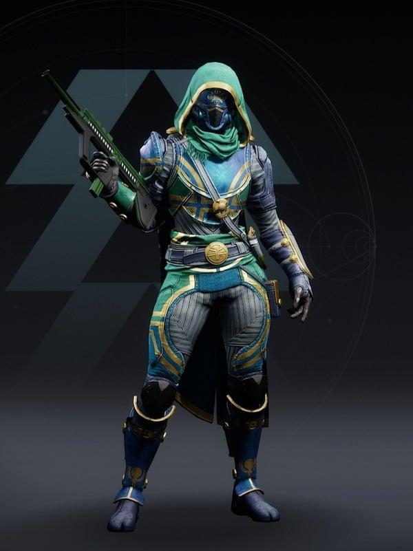 Destiny 2 Vernal Growth Hunter female