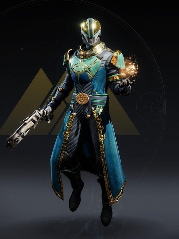 Destiny 2 Vernal Growth Warlock male