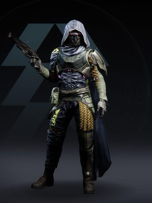 Destiny 2 Virulent Hunter male