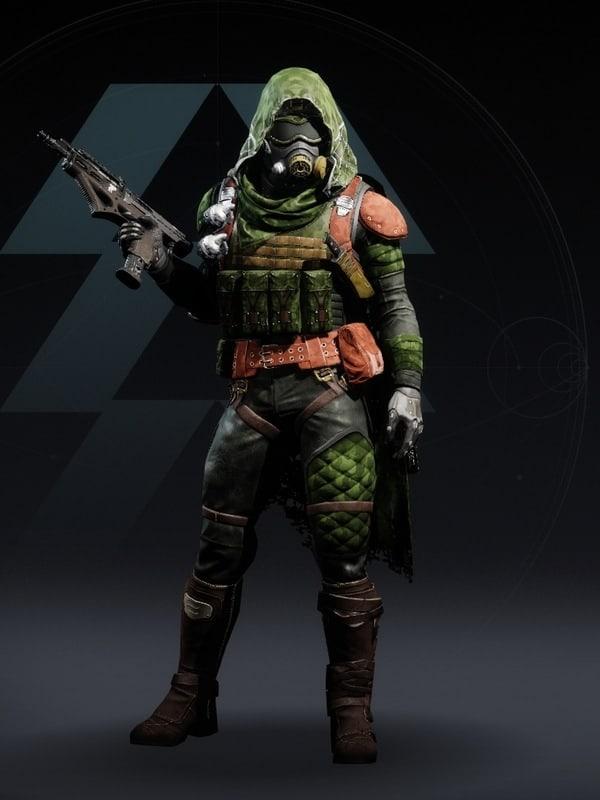 Destiny 2 Wildwood Hunter male