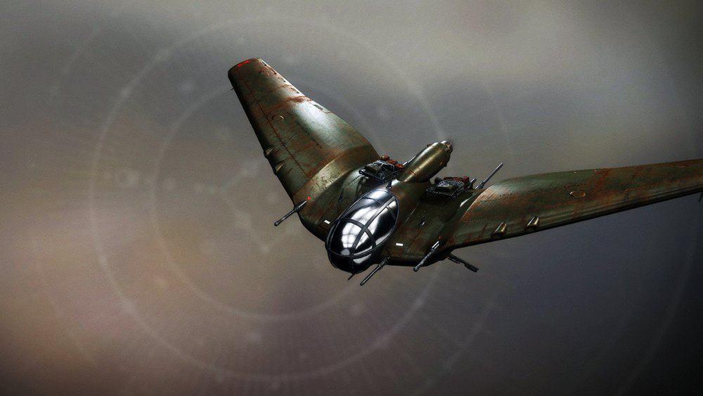 Aeshnidae Fixed-Wing ship Destiny 2