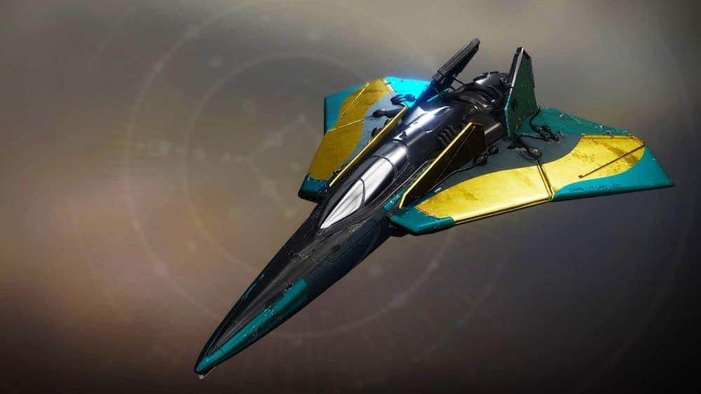 Arrow of Time ship Destiny 2