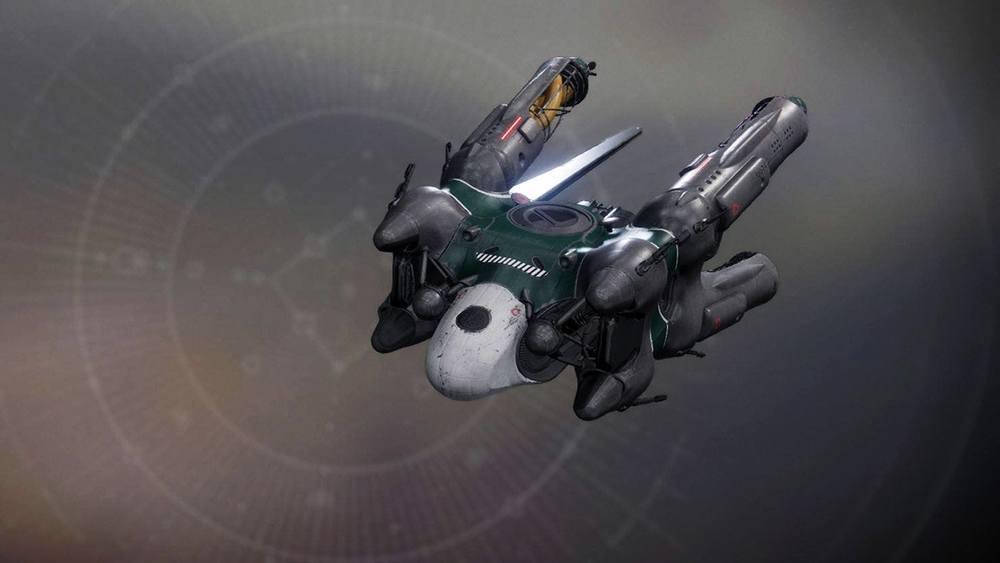 Asher Mir's One-Way Ticket ship Destiny 2