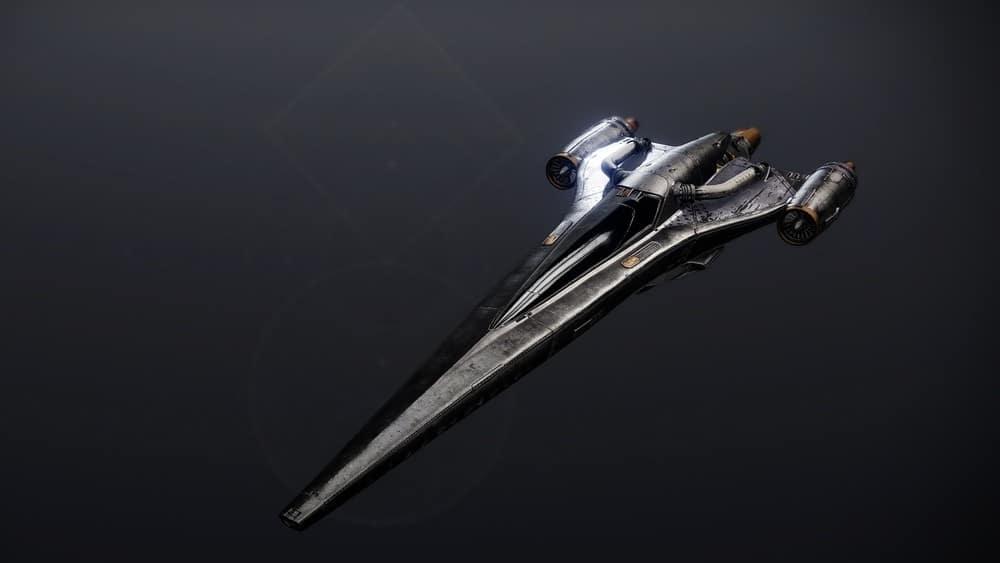 Black Peregrine ship Destiny 2 v2