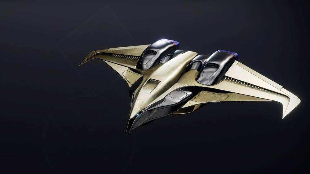 Celestial Kestrel ship Destiny 2