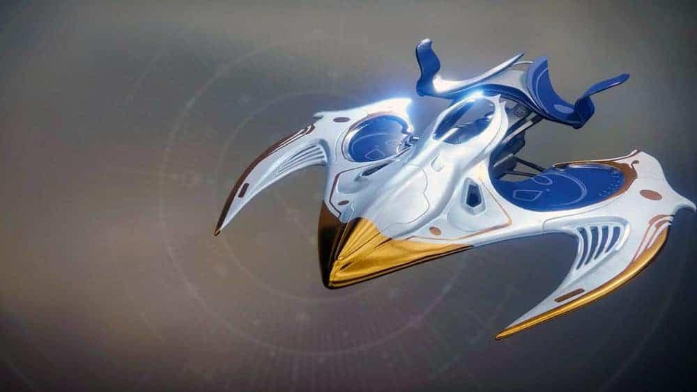 Cerulean Flash ship Destiny 2