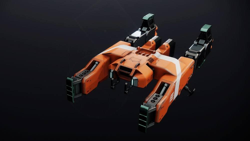 Gigantes Carrier ship Destiny 2