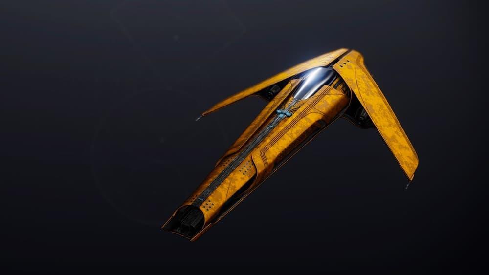 High Gravitas ship Destiny 2