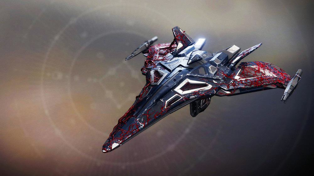 Infected Seeker ship Destiny 2