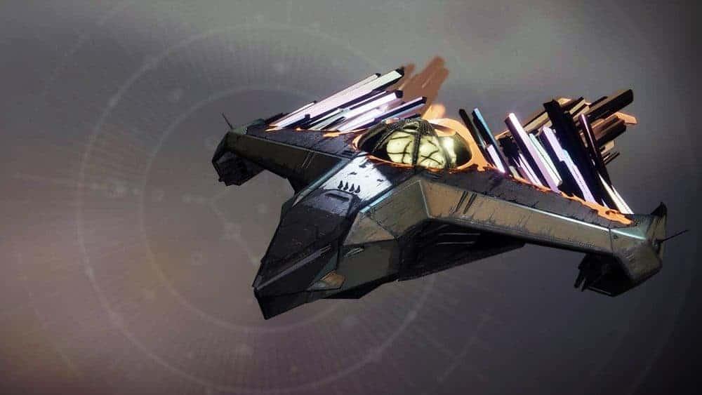 Kabr's Glass Aegis ship Destiny 2