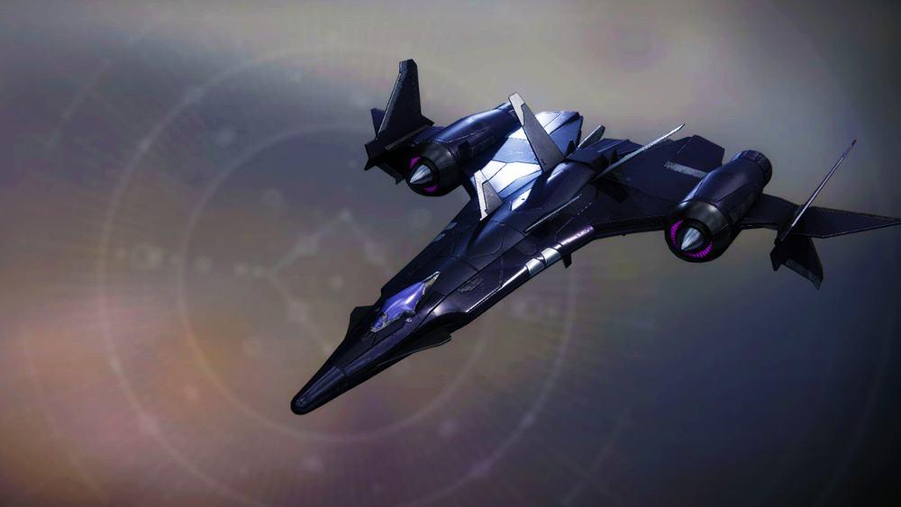 Obsidian Wings ship Destiny 2